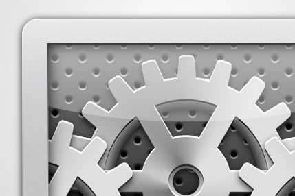 How to Create a Gearbox Settings Icon Using Simple Shapes