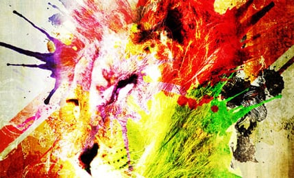 Splatter and Watercolour Brushes For Photoshop
