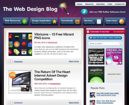 Designer Blogs Simple With Web Design Blog Images