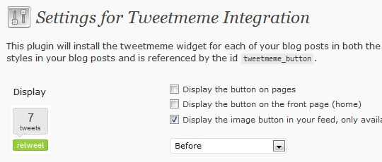 TweetMeme Button