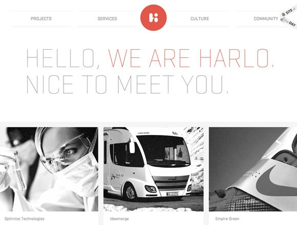 21 Amazing Examples of Clean and Minimal Web Designs