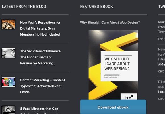Tone Agency united kingdom design studio website layout