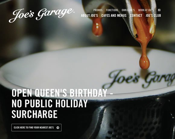 19 Inspiring Examples of Text over Images in Web Design