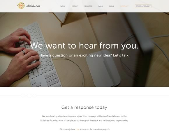 17 Inspiring Examples of Contact Pages and Forms