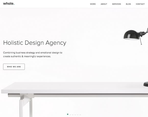 19 examples of minimalistic web designs web design ledger for Minimalist design inspiration