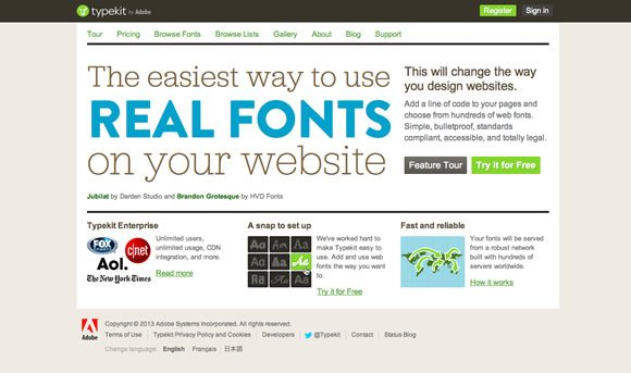 10 Tools for Better Web Typography