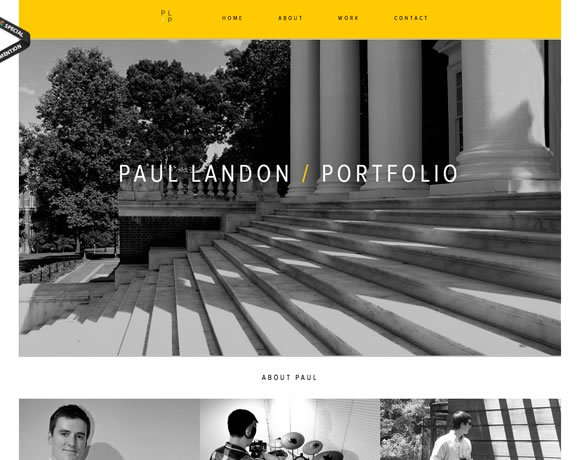 13 Inspiring Single Page Websites