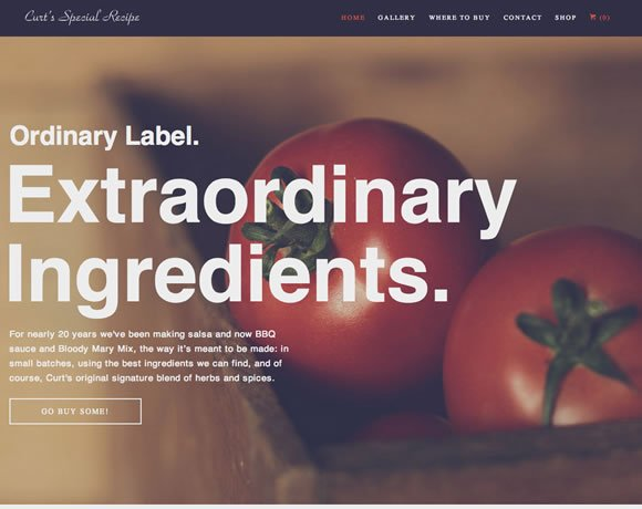 11 Tasty Restaurant and Food Related Websites to Inspire You