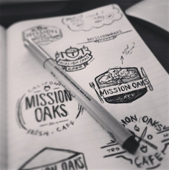 20 Wonderful Logo Sketches To Get You Inspired