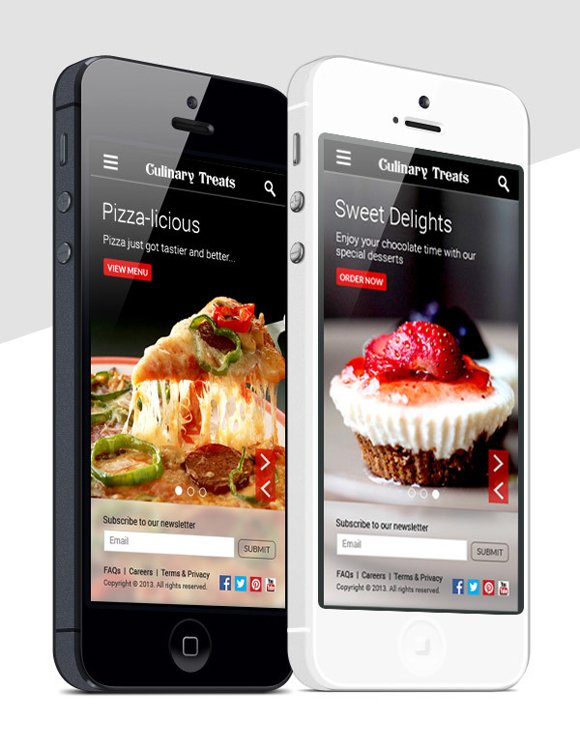 Tasty Food Mobile App Designs for Foodies