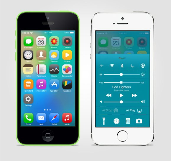 , 15 Cool iOS 8 Design Concepts You Should See