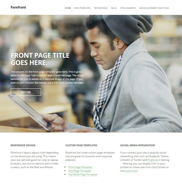 20 WordPress Themes for Business Consulting Companies