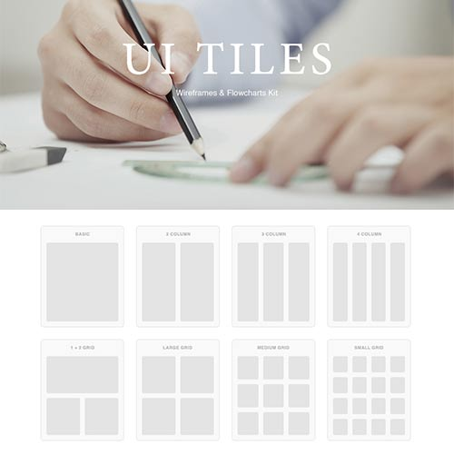 UI Tiles, A Quick and Easy Kit to Layout Websites