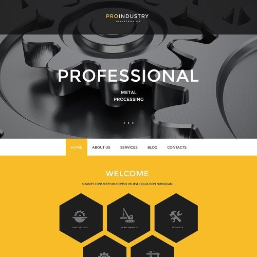 7-industrial-psd-template