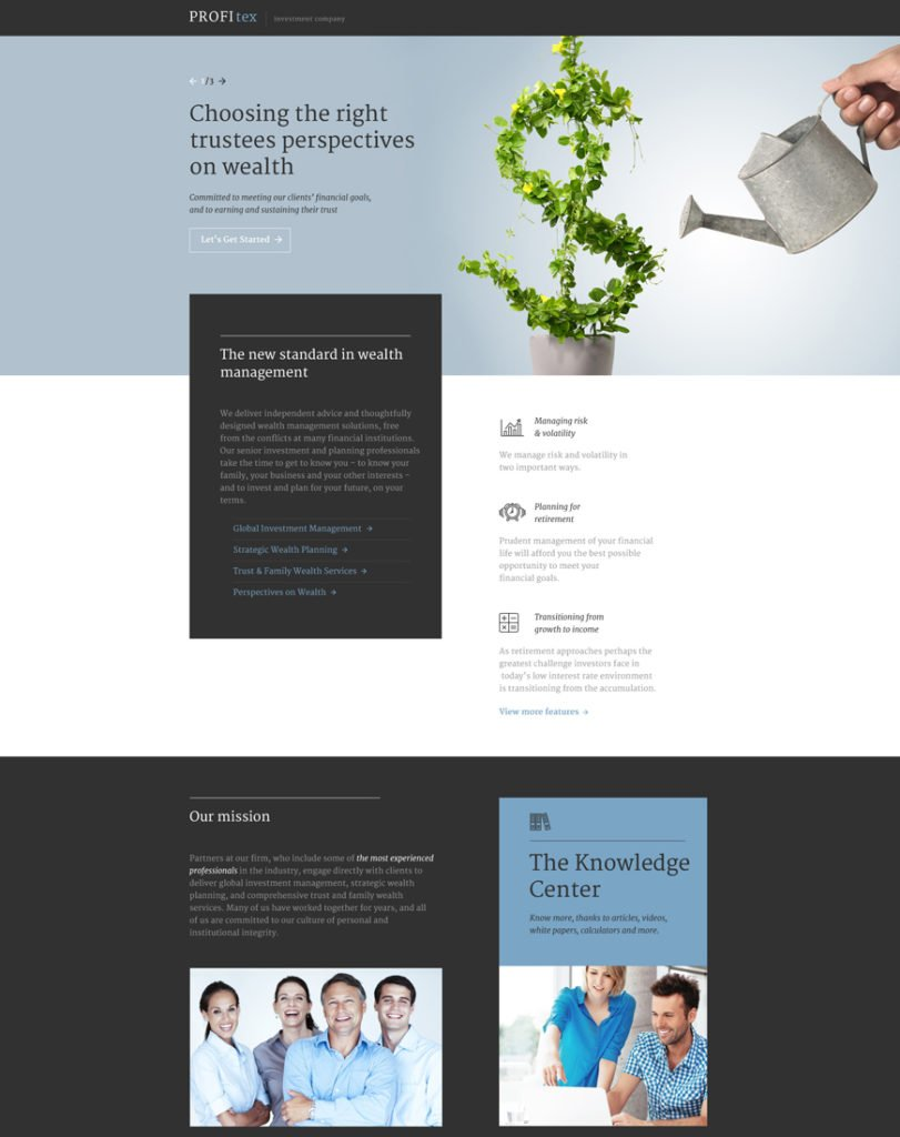 one of the best landing page templates