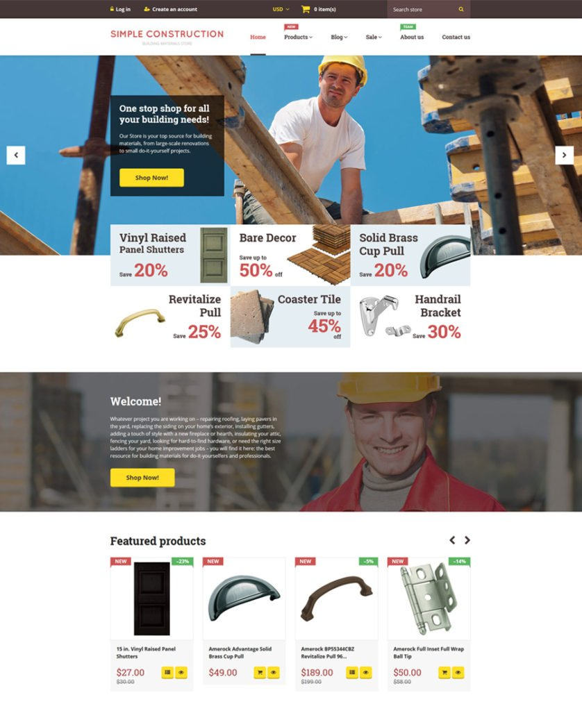 20-Simple-Construction shopify theme