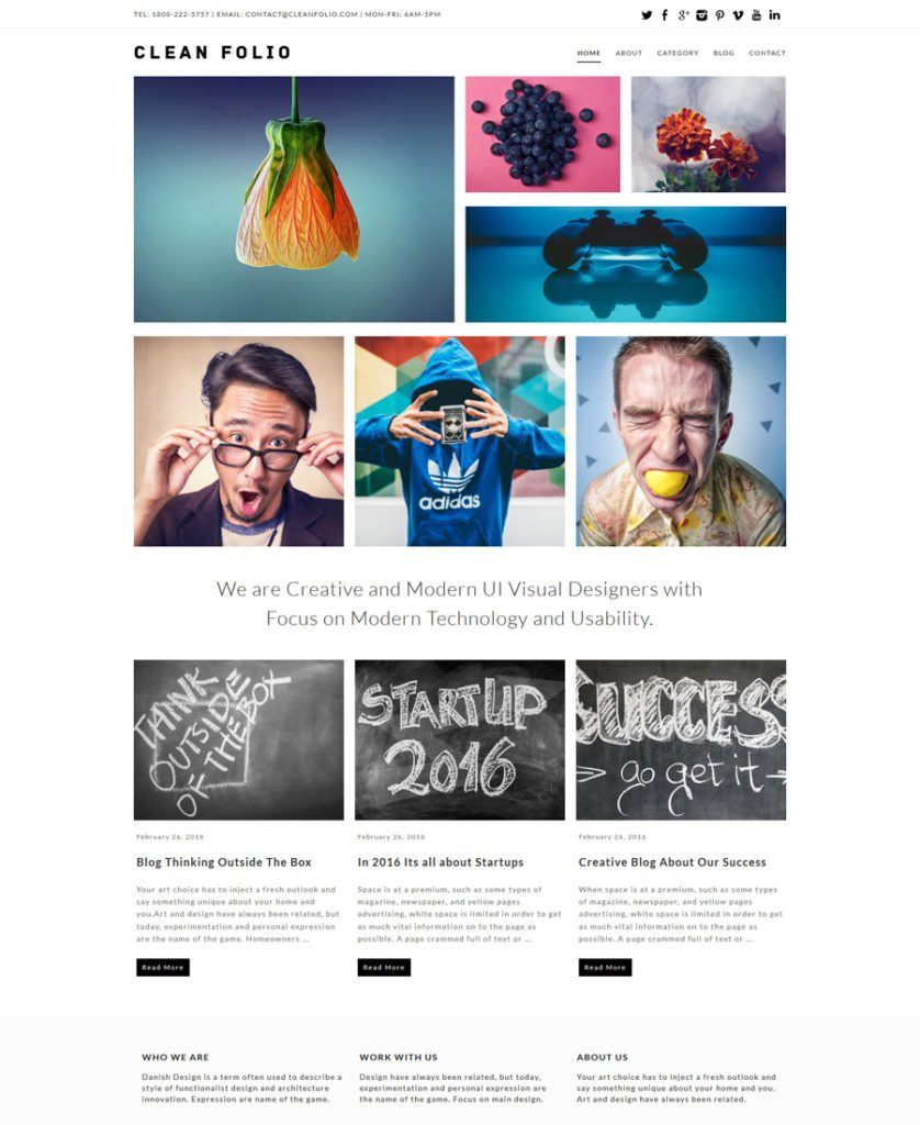 Clean-Folio-Responsive-WordPress-Theme