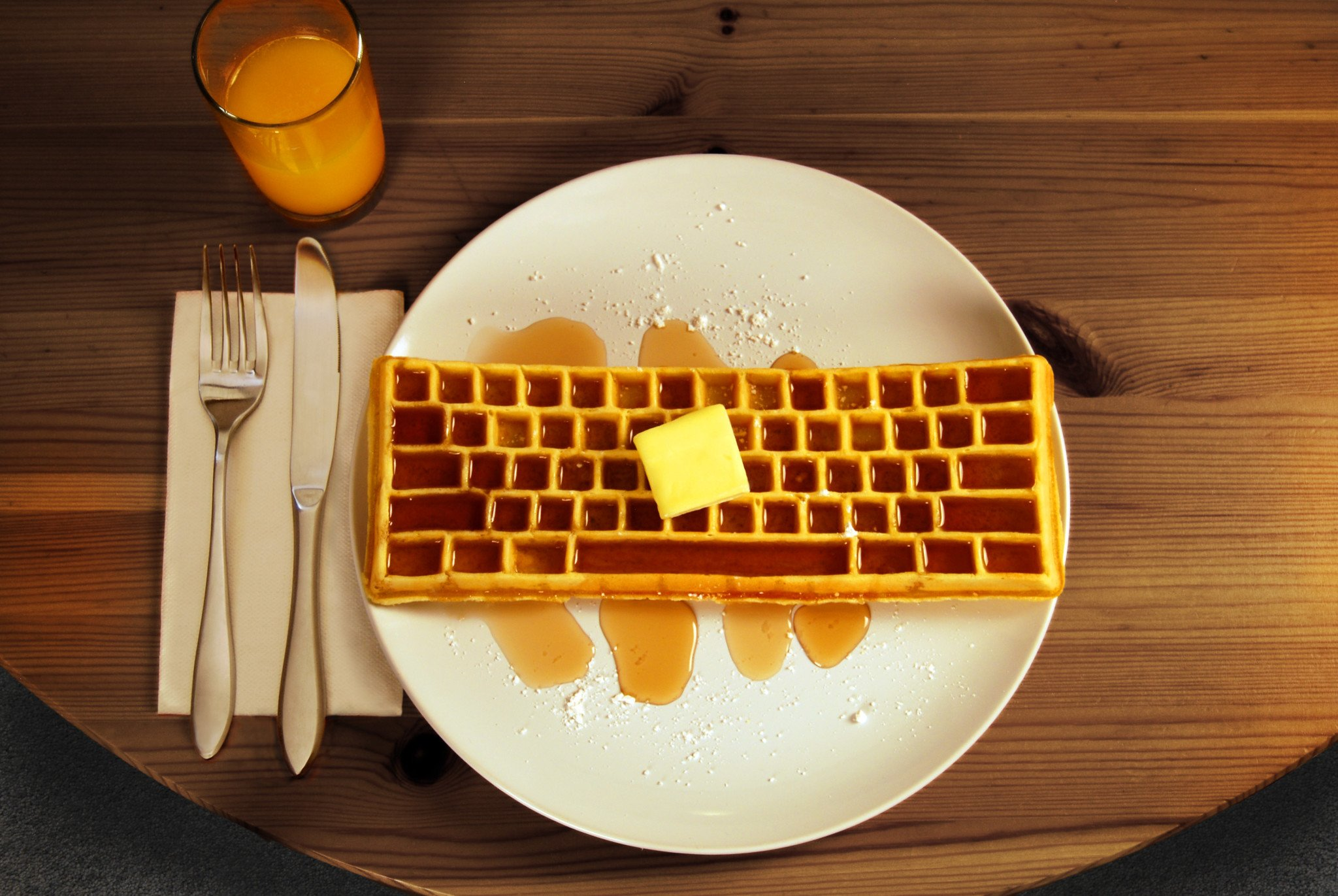 How to Make Waffles with a Grill Pan pictures
