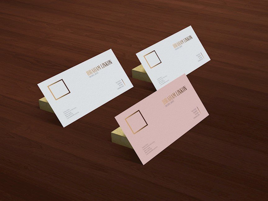20 beautiful business card mockups to download for free accmission Images